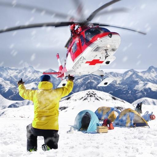 救急車ヘリコプターパイロットゲーム:フライトシミュレータ