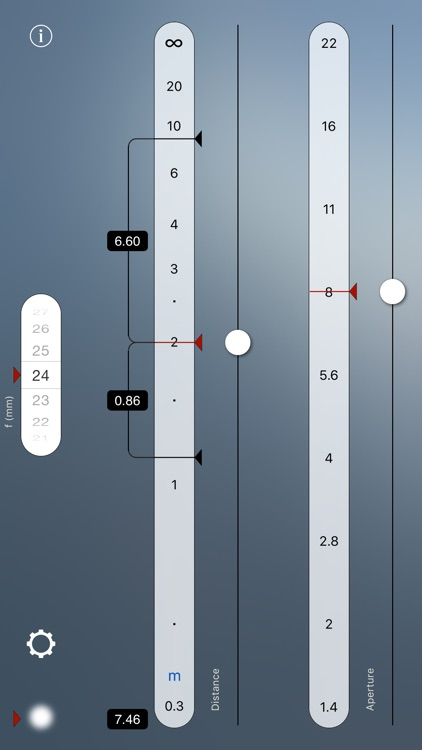 TrueDoF-Intro Depth of Field Calculator