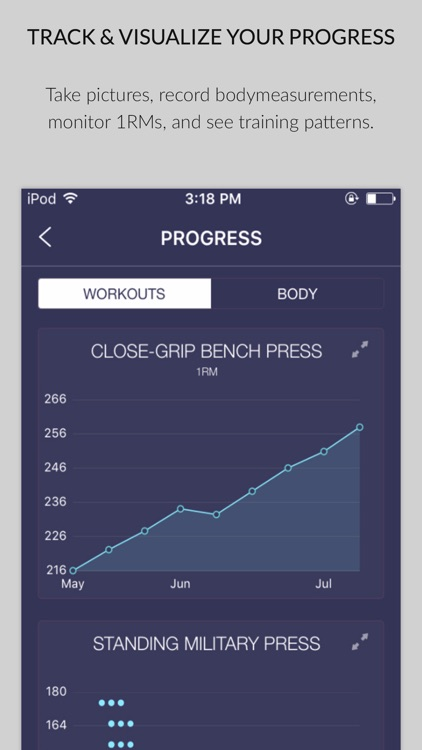 Stacked - Workout Tracker for screenshot-3