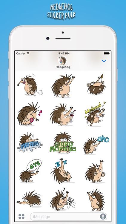 Hedgehog Sticker Pack