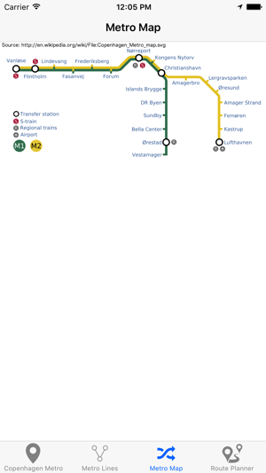 Copenhagen Metro Subway on the App Store