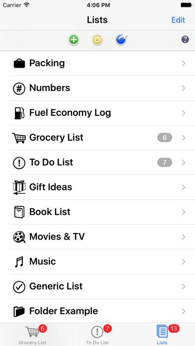 List Omni Lists screenshot four