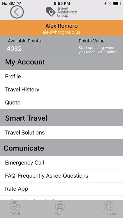 TAG Travel Assistance screenshot-4