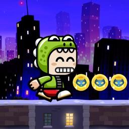 Super Green Kids Hero