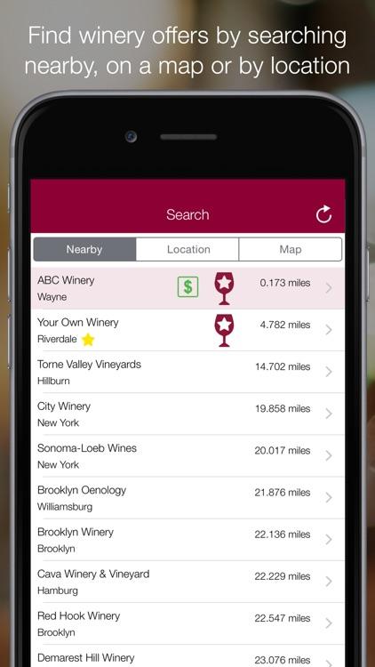 Winery Passport - Wine Tasting & Winery Finder screenshot-3