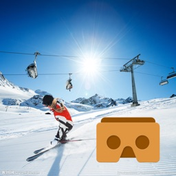 VR Skiing with Google CardBoard