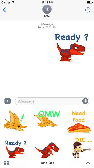 Say it as Dino StickersScreenshot of 3