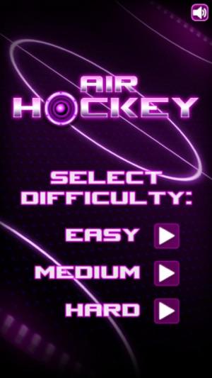 Air Hockey With Glow Rhythm