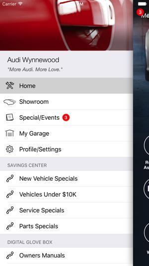 Audi Wynnewood DealerApp En App Store - Audi wynnewood