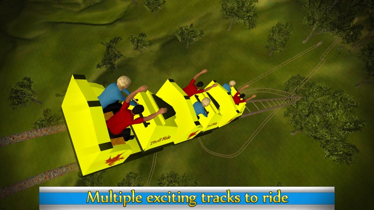 Roller Coaster Ride Simulator & Amusement Park 3d