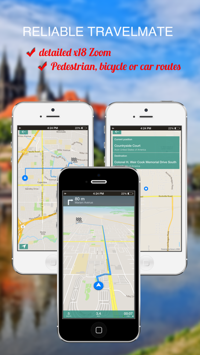 Istanbul, Turkey : Offline GPS Navigation screenshot four