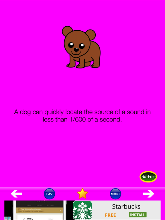 Animal Fun Facts 1000 screenshot