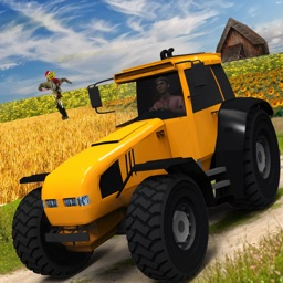 Heavy Tractor Farmer Sim 2017 : Farming Adventure