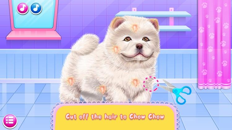 Fun Games:Chow Chow Spa Salon screenshot-3