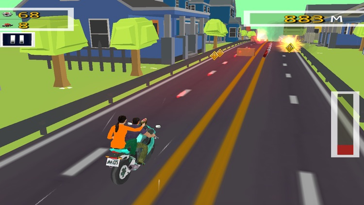 Bike Rider Highway Shooting screenshot-4