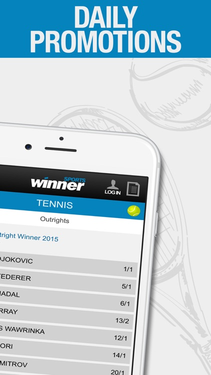 Winner sports betting app welsh open golf betting tips