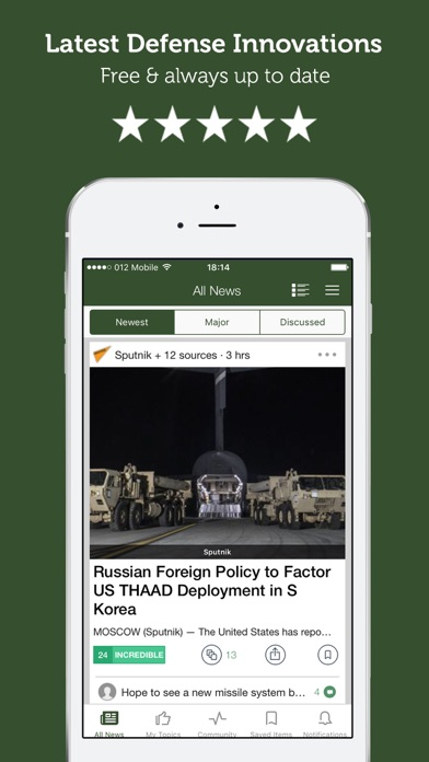 messages.download Defense & Military News Magazine software