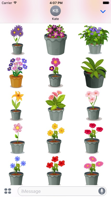 Flower Power Emoji screenshot-3