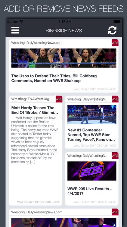 Live Ringside News - MMA, Wrestling & Boxing screenshot-4