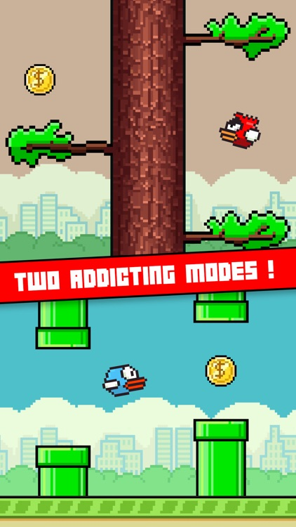 Flappy Ninja - Create Your Own Original Bird ! screenshot-3