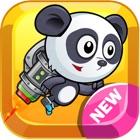 超 熊猫 冒险 跑 和 跳 飞扬 乐趣 游戏 icon