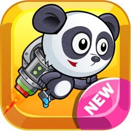 Super Panda Adventure Run and Jump Flappy Fun Game