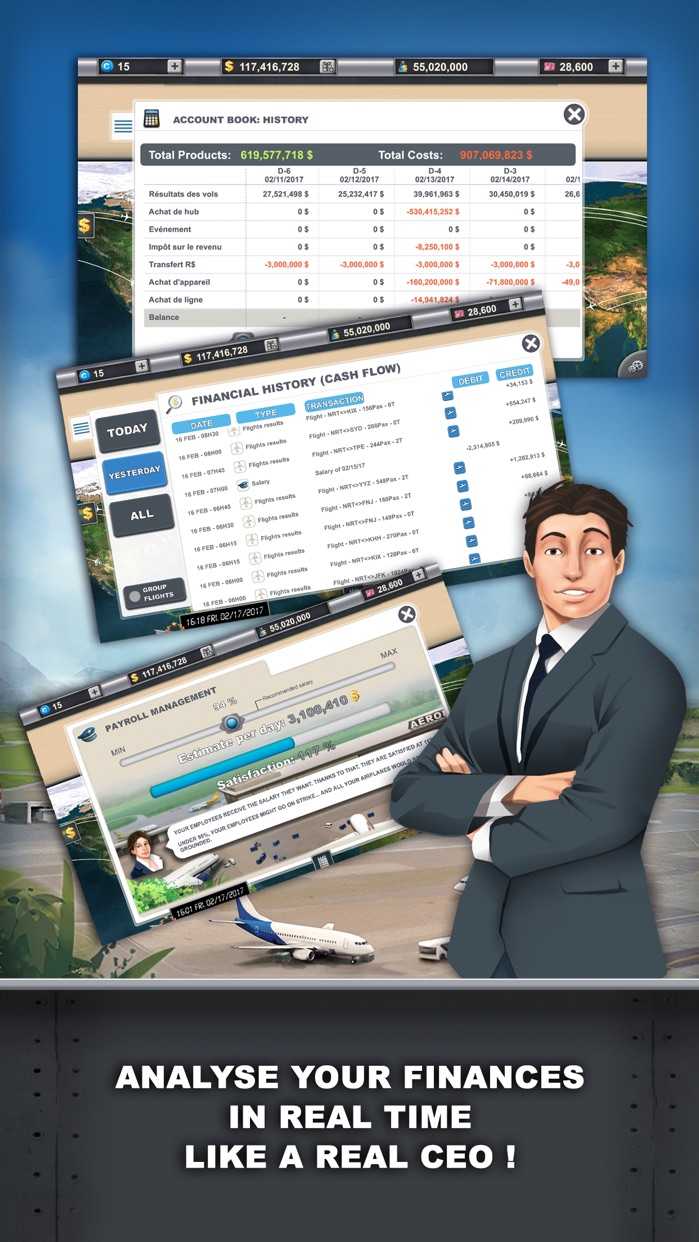 Airlines Manager : Tycoon Screenshot