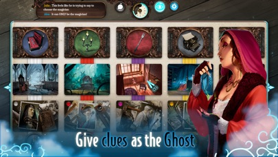 Screenshot #9 for Mysterium: A Psychic Clue Game