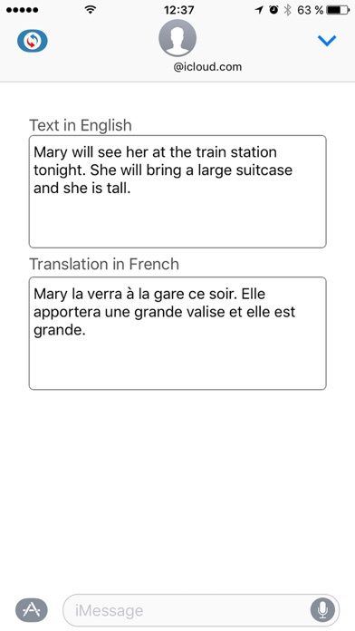 Reverso translation dictionary Screenshot