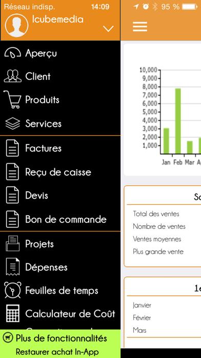 Facture Facile-créer et envoyer des factures PDF