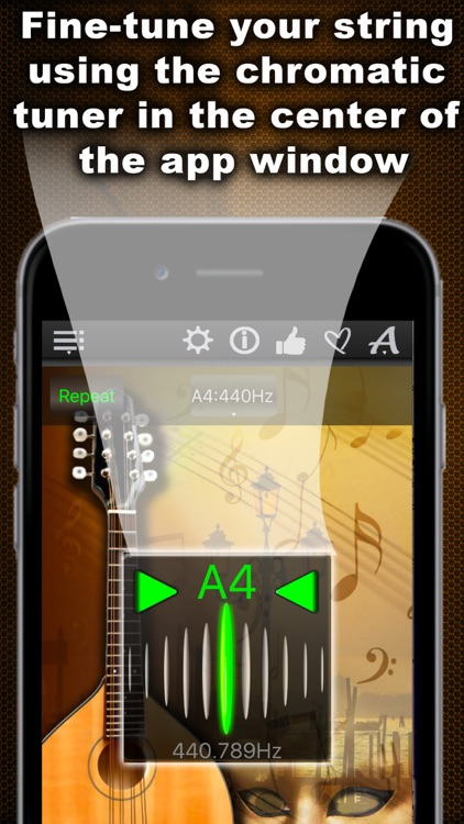 Easy Mandolin Tuner screenshot-4