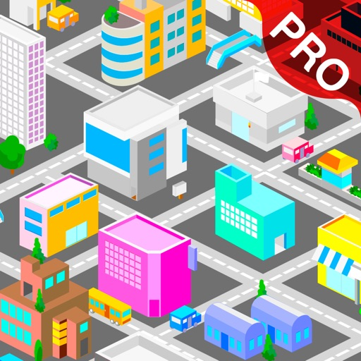 3D City Map Pro - Watch the Earth Building view