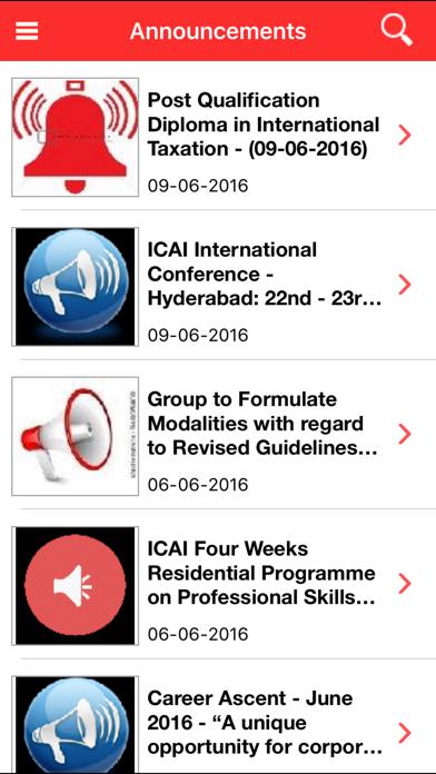 ICAI screenshot three