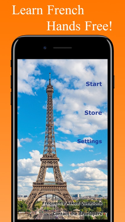 HandsFree French - Learn French Hands Free screenshot-4