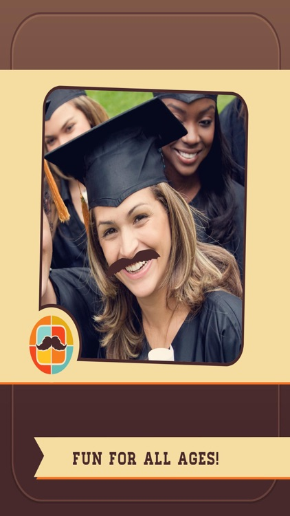 Mustache Face Facial Hair Beard & Photo FX Filter screenshot-3