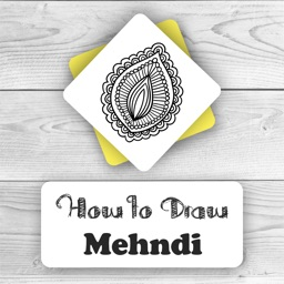 How to Draw Mehndi with Easy Way