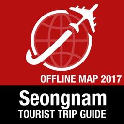 Seongnam Tourist Guide + Offline Map