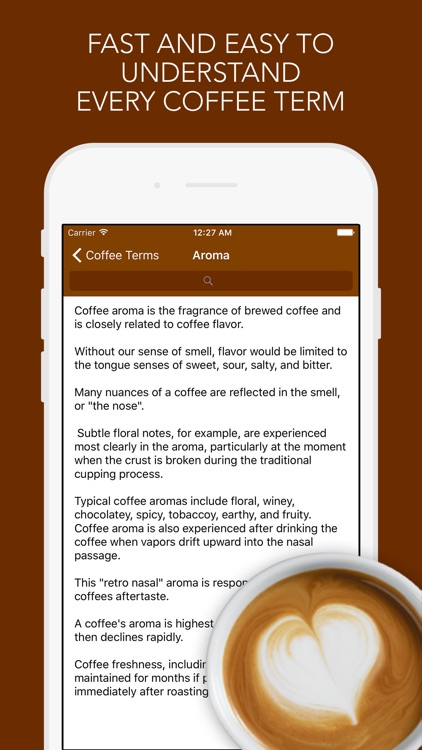 Coffee Terms
