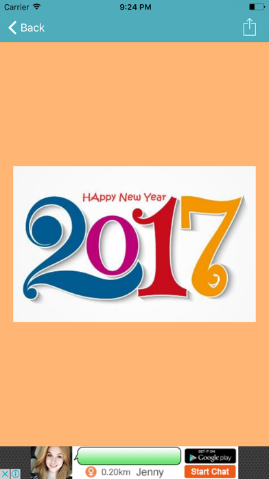 Happy New Year 2017 Messages & Greetings screenshot three