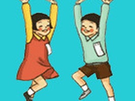"""School Day"" is animated stickers with images of school day"