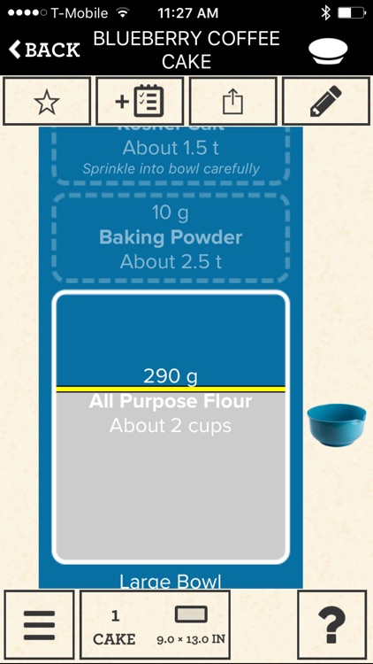 Perfect Bake: Interactive Recipe App screenshot-3