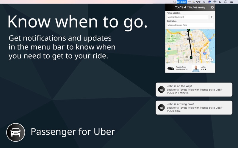 Passenger for Uber Screenshot