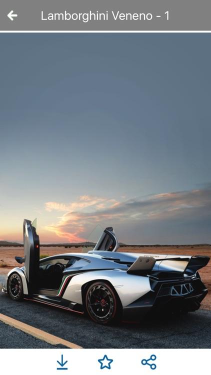 HD Car Wallpapers - Lamborghini Veneno Edition screenshot-4
