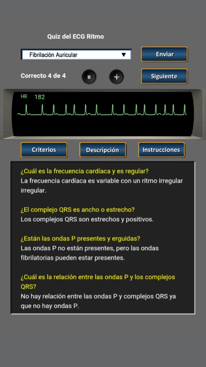 Quiz del ECG Ritmo screenshot-1