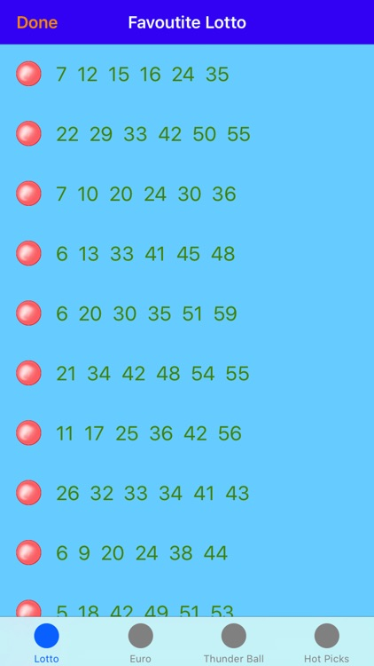 lotto mate - UK Lotto number generator screenshot-3
