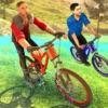越野车BMX uphill:山地自行车车手2017