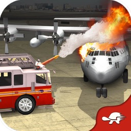 Emergency Rescue Operations - Fire Truck Driving