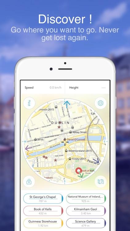 Dublin on Foot : Offline Map