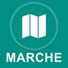 Marche, Italia : Off-line GPS Navigation icon