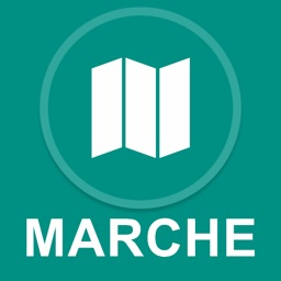 Marche, Italy : Offline GPS Navigation